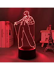 Lampka nocna 3D Harry Styles prezent dla fanów sypialni dekoracyjny światło LED czujnik zmiany kolorów praca na biurko lampka harry style