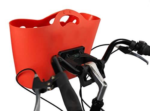 HAPO-G Trendy One - Cesta Delantera para Bicicleta para Adul