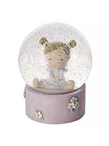 Schöne Fee Schneekugel - Ideales Geschenk für Mädchen zur Geburt oder zum Geburtstag