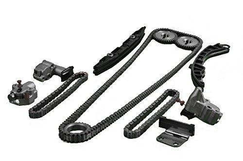 ITM Engine Components 053-92801 Timing Chain Set for 2008-2014 Infiniti/Nissan 3.7L V6, VQ37VHR, G37, M37, Q70/370Z