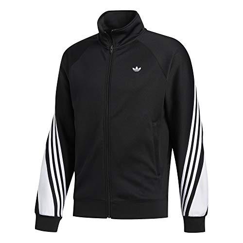 Adidas 3 Stripes Wrap - Chaqueta deportiva blanco/negro L