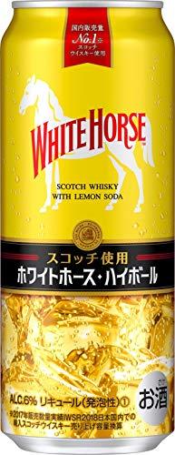 キリンビール ホワイトホース ハイボール 500ml×24缶