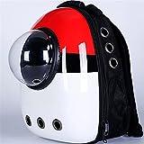 Bubble d'astronaute en Plein air Portable Fenêtre Chat Sac de Voyage Sac Respirant Capsule Capsule Carrier Pet Sac à Dos pour Chat Chien (Color : Pokemon, Size : M)