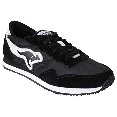 KangaROOS Unisex Invader Sneaker (36 EU/3 UK) (Schwarz)