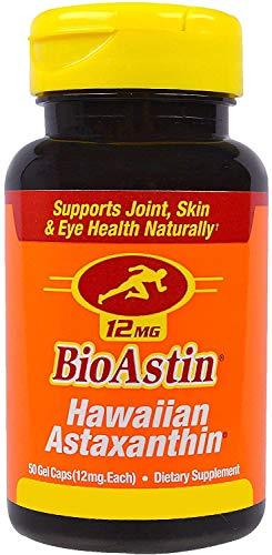 Ivarsson's BioAstin Astaxanthin 50 Kapseln I hochdosiert mit 12 mg natürlichem Astaxanthin I alle 2 Tage eine Kapsel