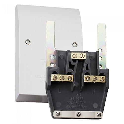 Advanced 45 A Easyfit Dual apparaataansluiting/uitlaat plaat [ip1192] (Mijn 3 jaar garantie)
