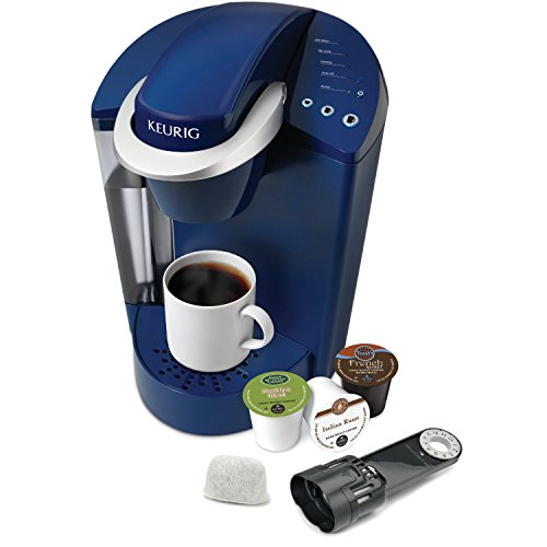 Keurig K55 Single Serve Programmable K-Cup Pod Coffee Maker, Patriot Blue