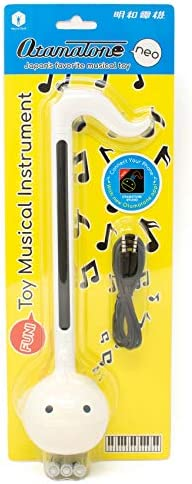 Otamatone White [w. English Manual] Japanese Electronic Musical Instrument Synthesizer by Cube / Maywa Denki
