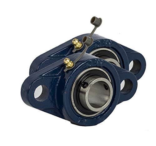 Jeremywell 2 Pieces- UCFL204-12 3/4 inch 2 Bolt Pillow Block Flange Bearing, Self-Alignment