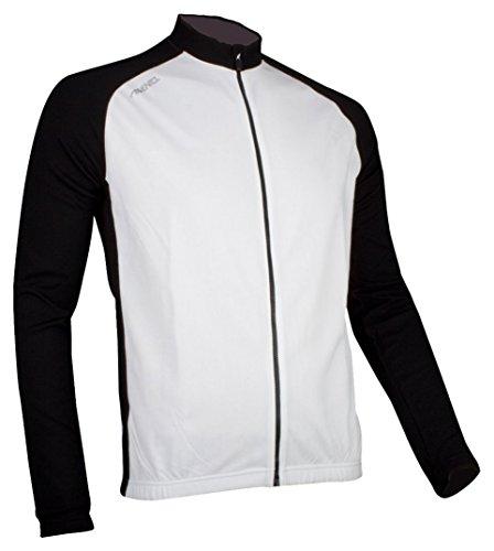 Avento 81BV Veste de Cyclisme Homme, Blanc/Noir, S