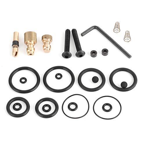 26pcs Kit de accesorios de bomba de aire de alta presión Reemplazo de piezas de automóvil 30mpa para botes de goma Automóviles Motocicletas Vehículo eléctrico Neumáticos Bolas