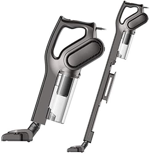 YAYY 2 en 1 aspiradora portátil con Cable 600W Palo de Mano Lateral Lavable para Pecho Limpiador de alfombras Upgrade