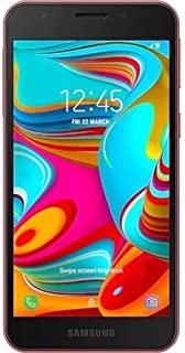 Samsung A260F Smartphone kırmızı