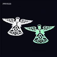 クリスマス妖精の翼スクラップブッキングDIYアルバムカード紙ダイメタルクラフトステンシルパンチカットダイカット
