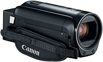 Canon VIXIA HF R800 Portable Video Camera Camcorder with Audio Input(Microphone), 3.0-Inch Touch Panel LCD, Digic DV 4 Image Processor, 57x Advanced Zoom, and Full HD CMOS Sensor, Black