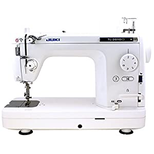 SYS Score: 9.0 Juki TL-2010Q 1-Needle, Lockstitch, Portable Sewing Machine with Automatic Thread Trimmer for Quilting, Tailoring, Apparel and Home Decor
