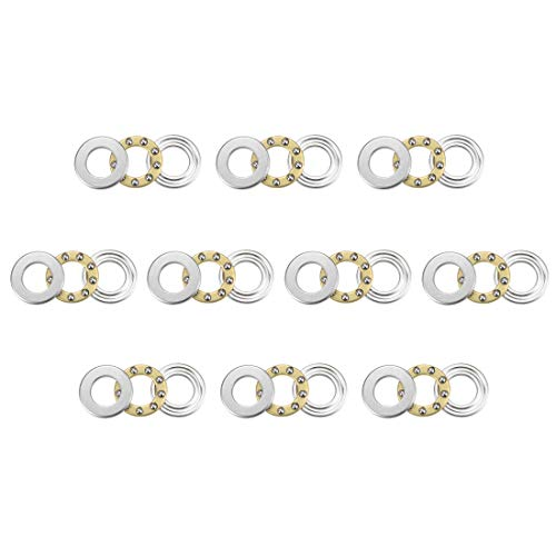 US Stock 10pcs F9-20M Axial Ball Thrust Bearing 3-Parts 9mm x 20mm x 7mm