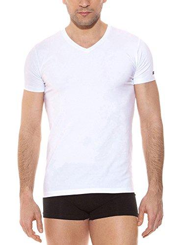 Pierre Cardin Pack 3 Camisetas V Manga Corta Blanco XL