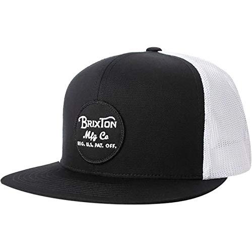 Brixton Wheeler Mesh Hat Cap Black/White ブラック キャップ 並行輸入品