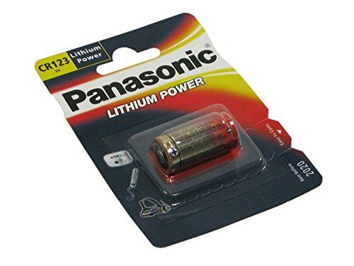Panasonic CR123A Batterie ( Lithium Power, 3.0V ) im Blister