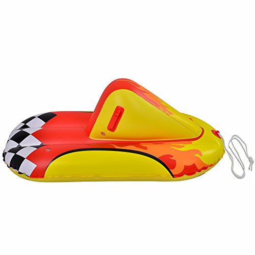 Blue Wave Sports Thunderbolt Inflatable Snow Rider, 44-Inch