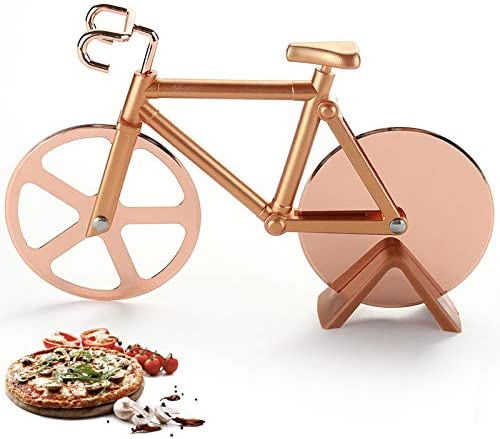 Pizza Cutter Wheel Quality Stainless Steel Pizza Slicer Bicycle Pizza Cutter Bicycle Pizza Slicer product image