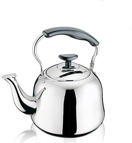 HYY-YY Engrosamiento Gas de la Caldera de Acero Inoxidable Food Silbato Caliente casa Cocina de Gas de Agua (tamaño: 4L)