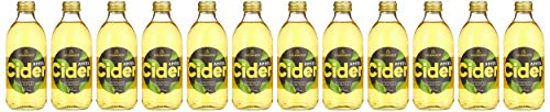 Katlenburger Apfel-Cider, Apfelschaumwein, fruchtig herb und zart süß 5,5% vol (12x0.33 l)
