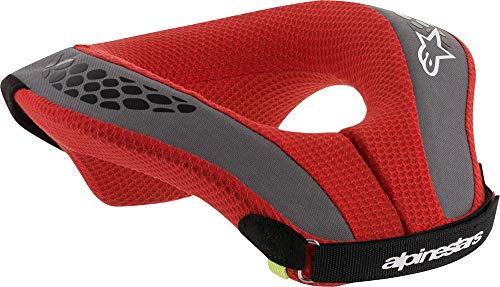 Alpinestars Jungen Sequence Youth Neck Roll L schwarz / rot