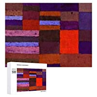 INOV 個性化された ジグソーパズル 木製パズル 500ピース キッズ 学習 認知 玩具 大人 ブレインティー 知育 puzzle (38 x 52 cm)