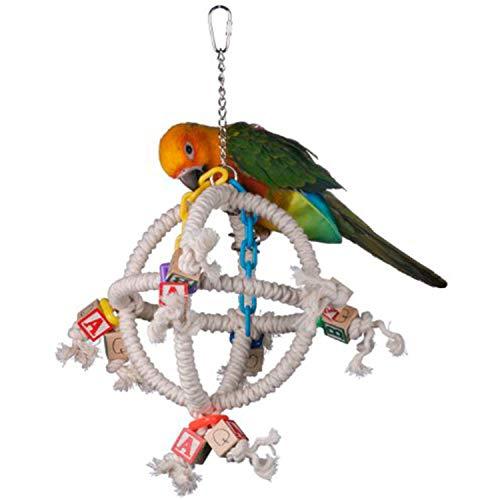 Super bird Creations 14 par 25,4 cm Orbiter Jouet pour Oiseau, Petite à Moyenne