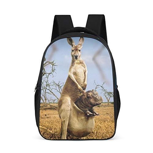 Mochila infantil Kangaroo de Animal para niños y adultos, regalo para niños y niñas