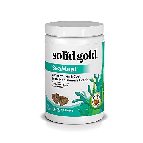 Solid Gold SeaMeal - Skin, Coat, Digestive & Immune Health Supplement - Natural, Holistic Kelp-Based Chews
