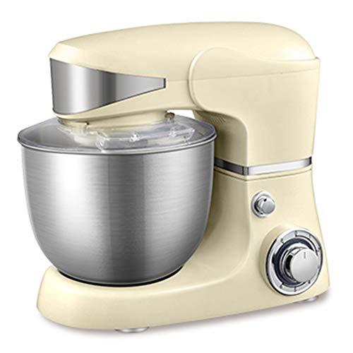Küchenmaschine Multifunktional, 1000W Food Processor mit 6 Geschwindigkeiten, Standmixer, 5L Rührschüssel