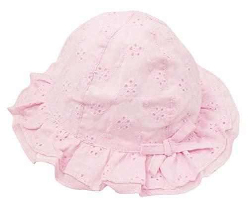 Happy Cherry - Infantil Sombrero de Sol con ala Verano Niño Bebé Niña Gorro de Pescador Bucket Hat Cómodo Gorra Protección de Sola para Vacaciones Playa