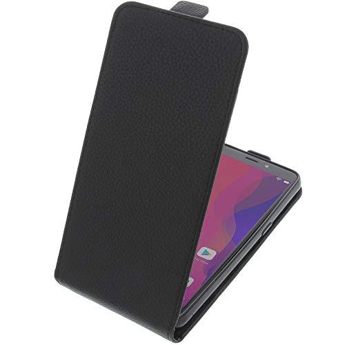foto-kontor Tasche für Vernee X2 Smartphone Flipstyle Schutz Hülle schwarz