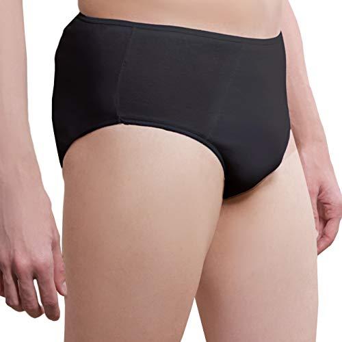 ✅ Herren Einweg Unterhosen aus Baumwolle - 5er Pack - Super Premium Qualität EinwegUnterwäsche Einwegslips Einmalslips Einmalunterhosen Einmal Unterwäsche Einweg Unterwäsche für Krankenhaus und Reise