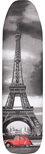 Ladeheid Cubierta de Tabla de Planchar 100% Algodón (Paris, 132 x 48 cm)
