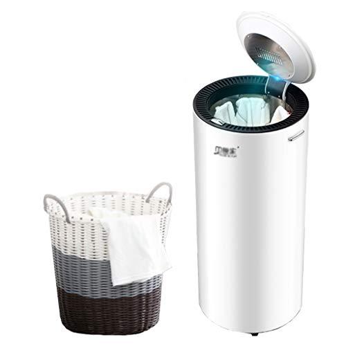 DUANJY Sèche-Linge électrique, Intelligent, Stérilisant, Chauffage Domestique Petit sèche-Linge (Color : Black)