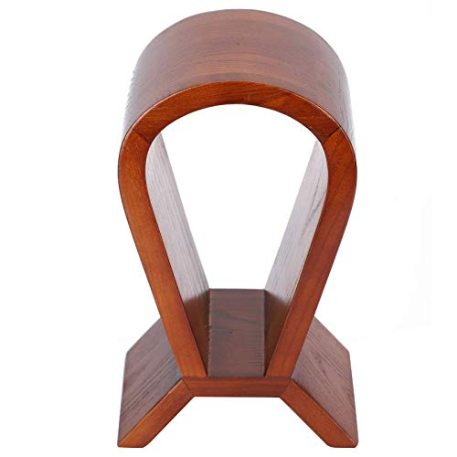 GPWDSN Soporte de Madera para Auriculares Soporte para Pantalla de Auriculares para Juegos Soporte para Auriculares clásico Craft Brown