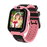 HAPPINNO Kids Video Player & Recorder (Black,Pink,Blue), Smart Watch for Girls Boys with Music MP3 Player 7 Games Camera,Stopwatch,Timer, Age 3-10 Years,Birthday,Fesitival Gift