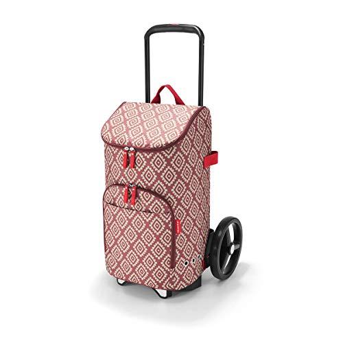reisenthel Set citycruiser Gestell+ citycruiser bag Tasche diamonds rouge DF3065