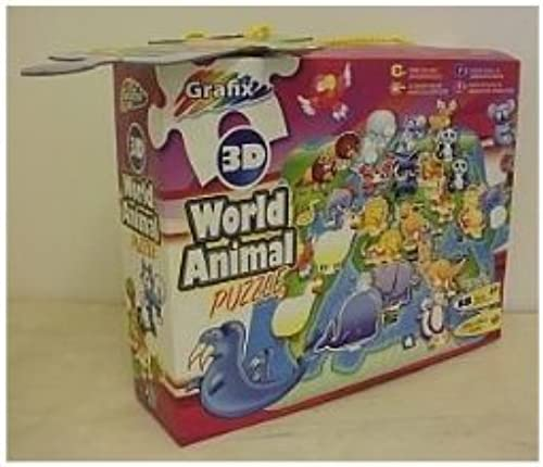 Grafix 3d World Animal Puzzle