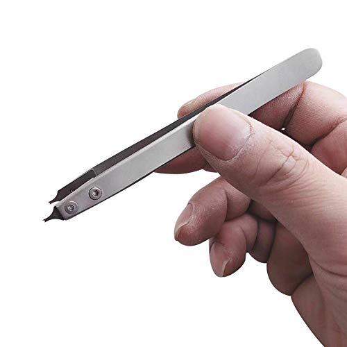 Huien V Type Spring Bar Tweezer Horloge Reparatie Pincet Lug Remover vork Tool voor