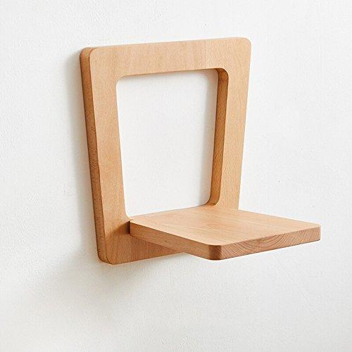 Wand-Garderobe/Massivholz Nussbaum Wohnzimmer/Balkon Pflanzenständer/Quadratische Buche Rahmen/Wohnzimmer Schlafzimmer Kleiderbügel