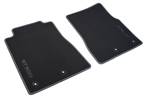 Genuine Ford BR3Z-6313086-AE Shelby GT-500 Front Floor Mats Charcoal
