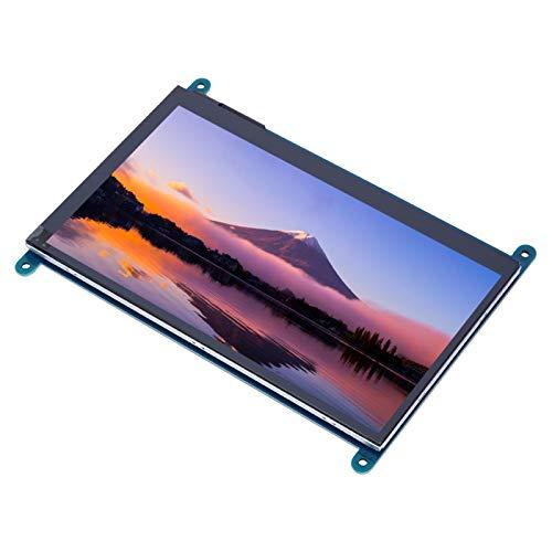 Bildschirm für Raspberry, LCD-Bildschirm 7-Zoll-Bildschirm, Raspberry Pi für Computermonitor Win7 / Win8 Win10-Systeme