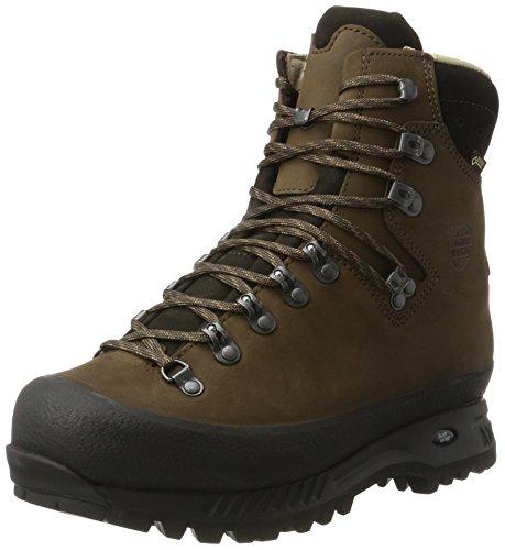 Hanwag Herren Alaska Wide GTX Trekking- & Wanderstiefel, Braun (Erde_Brown), 47 EU