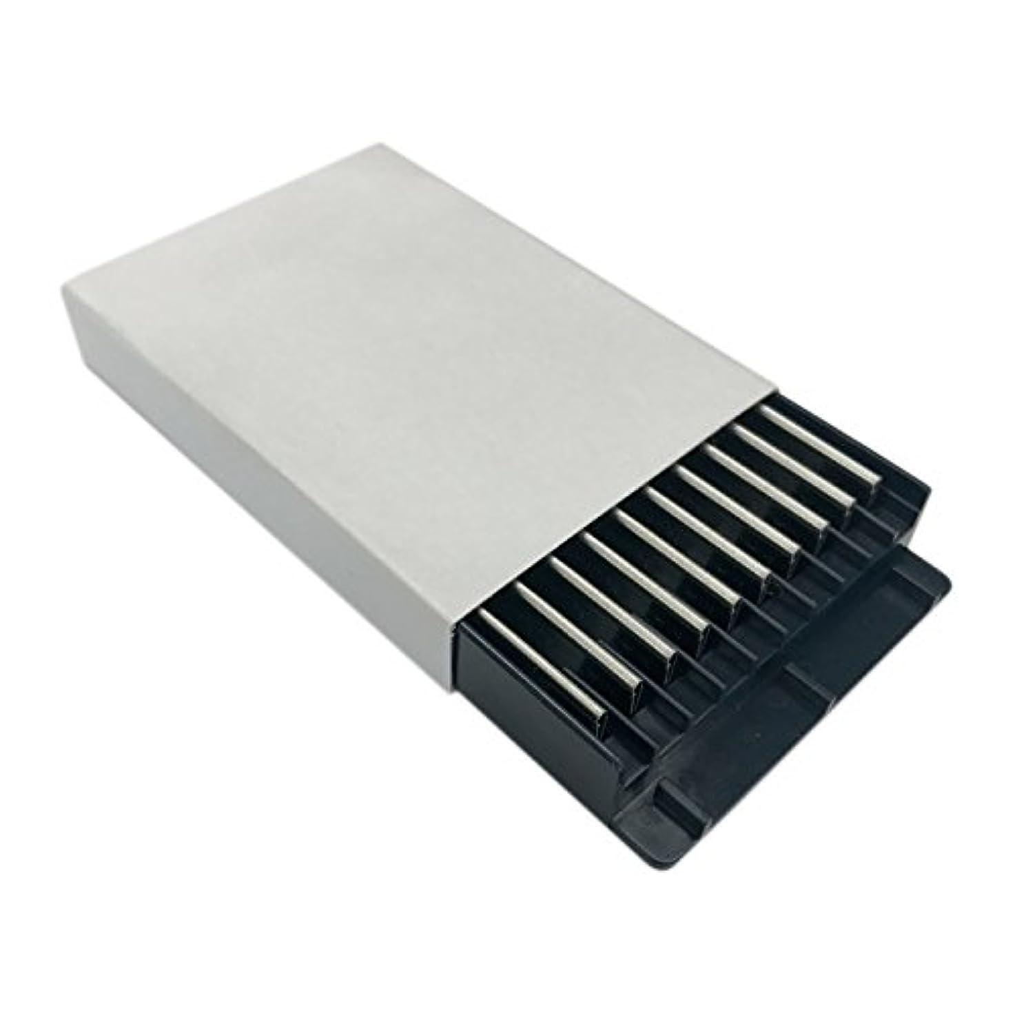 フローティング遺体安置所チョップ替刃 フィールスタイリングレザー用(セニングブレード)10枚入り