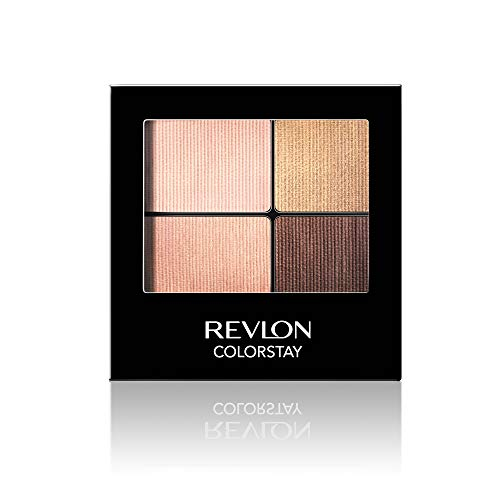 Revlon ColorStay 16 Hour Eyeshadow Quad with Dual-Ended Applicator Brush,...